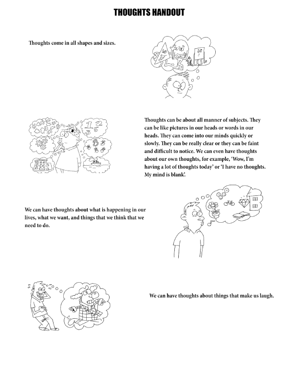 It's just a graphic of Clever Therapy Worksheets for Kids