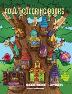 adult olcoring book cover