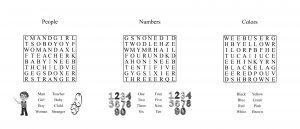 website word search examples