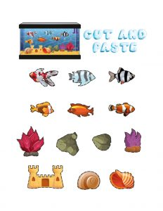 Art and Craft Ideas for Grade 1 (Aquarium Maker) 1