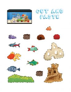 Art and Craft Ideas for Grade 1 (Aquarium Maker) 2