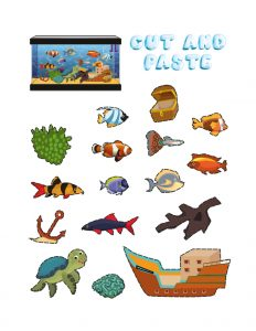Art and Craft Ideas for Grade 1 (Aquarium Maker) 3