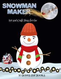 Art and Craft for Kids with Paper (Snowman Maker)