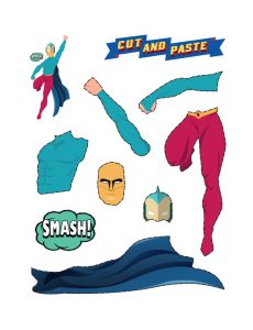 Art and Craft Ideas with Paper(Superhero Maker)2