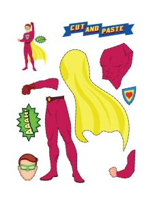 Art and Craft Ideas for the Classroom (Superhero Maker)3