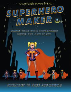 Art and Craft for Kids with Paper (Superhero Maker)