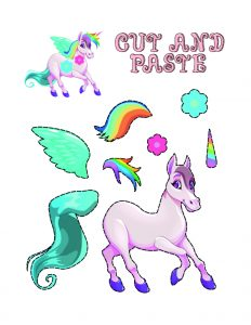 Art and Craft Ideas with Paper (Unicorn Maker) 2