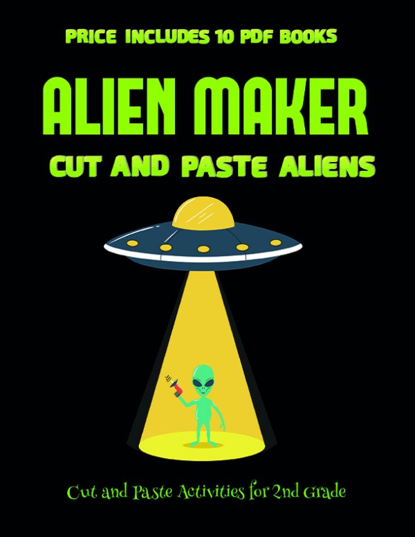 Simple craft work with paper (Alien Maker)