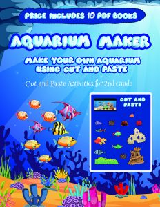 Art and Craft Ideas for Grade 1 (Aquarium Maker)