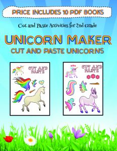 Art and Craft for Kids with Paper (Unicorn Maker)