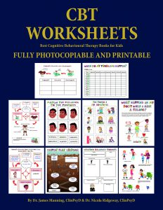 CBT worksheets for kids sample pages